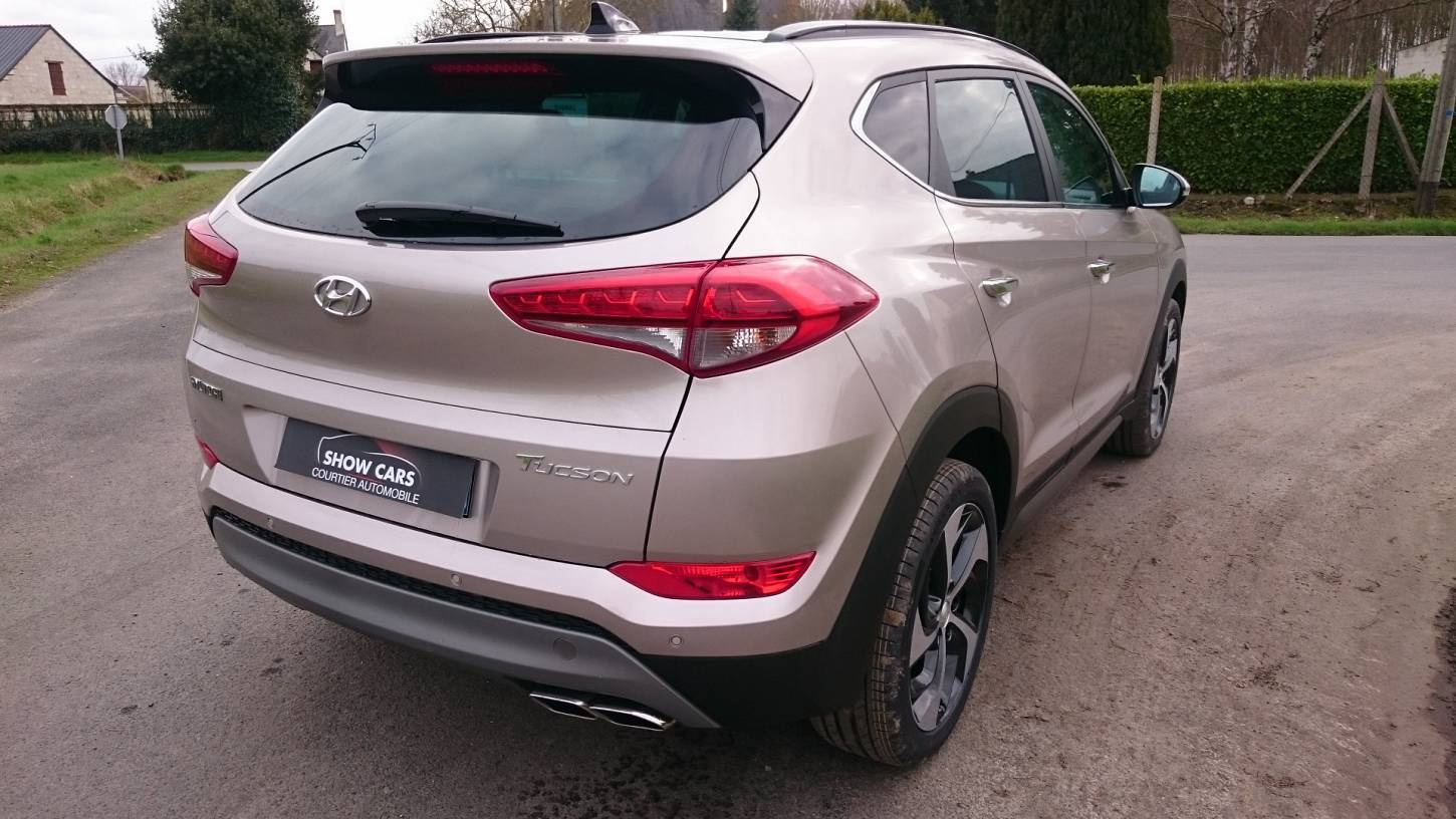 hyundai tucson 2 0 crdi 136 2wd executive cuir toit pano ja19 diesel neuf show cars. Black Bedroom Furniture Sets. Home Design Ideas